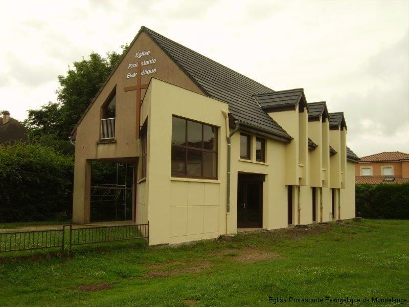 Vue de la façade sud sans échafaudage